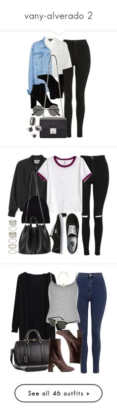 """""""vany-alverado 2"""" by sarahsamantha ❤ liked on Polyvore featuring Topshop, MANGO, Yves Saint Laurent, Dolce&Gabbana, Forever 21, H&M, Vans, River Island, Acne Studios and Chanel"""