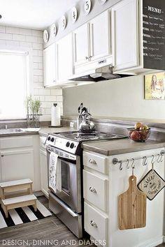 5 ideas para distribuir y decorar una cocina rectangular   Decorar tu casa es facilisimo.com