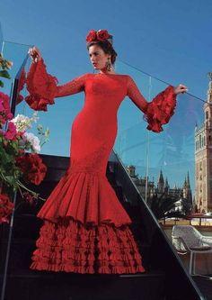 Costume de Flamenca modèle Pasion