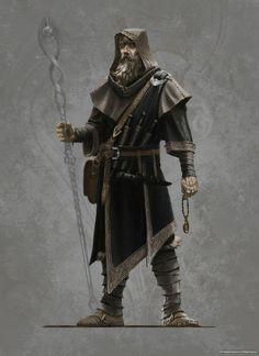 Skyrim Mage's robes concept art