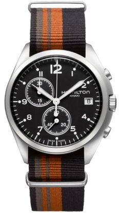 378e3c84b Hamilton Khaki Pilot Pioneer Chrono Watches For Men, Gents Watches, Fine  Watches, Cool
