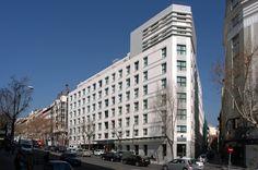 Hotel HUSA Paseo del Arte. allende arquitectos. Madrid 2004