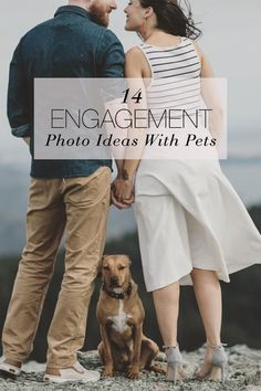 Life just wouldn't be complete without them. 14 Engagement Photo Ideas With Your Pets