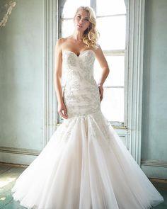 Introducing, from the Allure Bridals Spring '16 collection, Allure 9300. A total stunner.  #allurebridals #weddinginspiration #weddingdress #bridalfashion