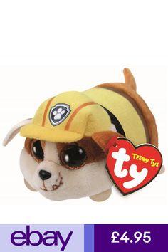 Ty Beanie Babies 42227 Teeny Tys Paw Patrol Rubble Dog 5a27ae57130b