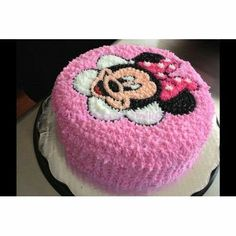 Mini Mouse Cake, Minnie Mouse Birthday Cakes, Birthday Cake Girls, Bolo Minnie, Minnie Cake, Fancy Cakes, Cute Cakes, Beautiful Cakes, Amazing Cakes