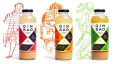 Mr. Mak's Ginbao: Where East Meets West — The Dieline - Branding & Packaging Design