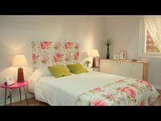 Cómo hacer un cabecero barato con tela - Bricomanía - YouTube Bedroom Colors, Diy Home Decor, Fabric, Furniture, Youtube Youtube, Basket Crafts, Bedroom Furniture Layouts, Fine Furniture, Furniture Design