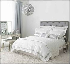 Carpets with a thick pile are ideal for cold bedrooms, as well as complimenting this design idea perfectly. Description from blog.terrysfabrics.co.uk. I searched for this on bing.com/images