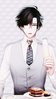 """kouiiku: """"""""Mystic Messenger Jumin wallpapers requested by Anonymous! """" Credit to @glassnorouyadeunazuku for letting me use some of their cg screenshots because I hadn't finished his route. Tysm! ♡ """""""