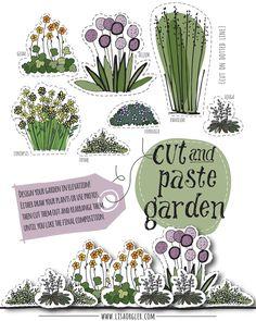 Design you own garden with ease: Cut and Paste Garden