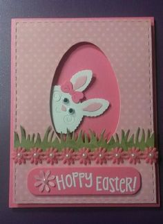 Easter Card Images Luxury Created by Cindy Lou Gothard for Easter Cards Easter Diy Easter Cards, Easter Greeting Cards, Greeting Cards Handmade, Easter Crafts, Handmade Easter Cards, Easter Ideas, Holiday Cards, Christmas Cards, Karten Diy