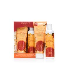 Tuscan Blood Orange Natural Body Butter and Body Wash set