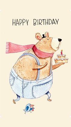 Happy Birthday Quotes Humor Inspirational 59 New Ideas Happy Birthday Greetings Friends, Happy Birthday Greeting Card, Happy Birthday Quotes, Funny Birthday Cards, Happy Birthday Daughter, Happy 21st Birthday, Diy Birthday, Happy Bird Day, Happy Anniversary