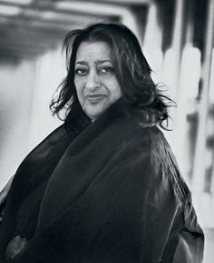 Zaha Hadid © Ingrid von Kruse.