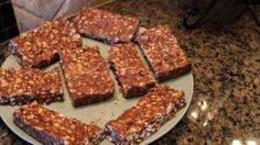 Easy Homemade Chocolate Peanut Butter Protein Bars (No Baking) - Lean Body Lifestyle, via YouTube.