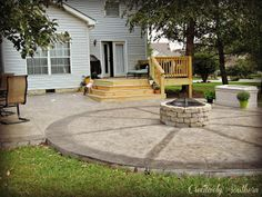 How to Build a Firepit - Creatively Southern