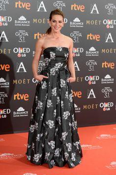 Laura Dominguez attends Goya Cinema Awards 2017 at Madrid Marriott Auditorium on February 4, 2017 in Madrid, Spain.