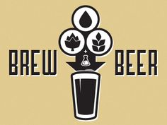Just playing around with some brewing icons I'm working on. Type is Airship 27.