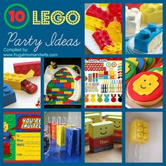 Frugal Mom and Wife: 10 LEGO Party Ideas!