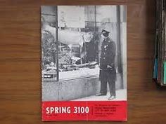 Spring 3100 Nypd Nyc Police Magazine Collectible Vol 45 #6 July aug 1974 Vintage