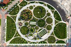 James Corner Field Operations designs an iconic circular park for the Philadelphia Navy Yard