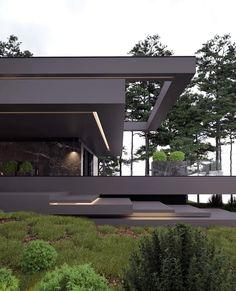 "668 Likes, 5 Comments - Roman Vlasov (@_vlasov_roman_) on Instagram: ""Project villa / 813 #romanvlasov #architecture #archilovers #modern #modernhouse #design #concept…"""