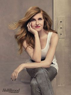 THR Emmy Roundtable: Behind-the-Scenes Photos of TV's Hottest Drama Actresses: Connie Britton