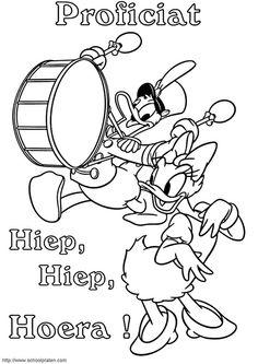 Kleurplaten Van Katrien En Donald Duck.36 Beste Afbeeldingen Van Donald Duck Feest Daisies Donald Duck