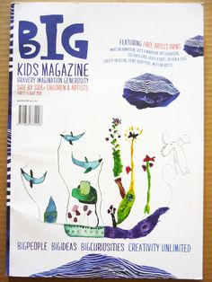 BIG kids magazine review by @pikaland