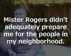 Thanks Mr. Rodgers