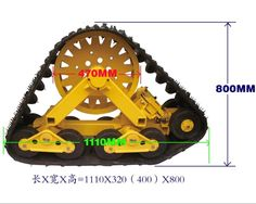 Chinese reverse-engineered Mattracks....