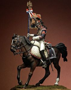 Open Box - PEGASO 75mm Mounted figure French Cuirassier ...