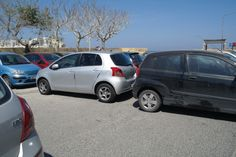 Parking in Malta ain't easy... getting away is even more difficult!!! :)