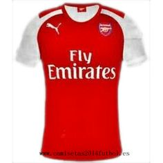 Nueva Camiseta del Arsenal Primera 2014-2015