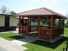 Wooden Summer House, Gazebo, Outdoor Structures, Patio, Garden, Kiosk, Garten, Pavilion, Lawn And Garden