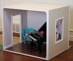 Doll House Plans For American Girl Or 18 Inch Dolls - One Room Module - Not…