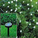 Best Cheap Solar Powered Christmas Lights | ALEKO® Solar Powered Christmas Lights String Light 50 LED White