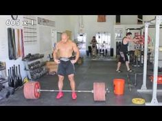 Dead Lift Workout - Elliott Hulse - YouTube