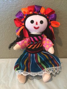 Vintage Traditional Mexico Mexican Folk Art by KMSCollectibles
