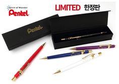 Pentel Pencil Graph 1000 P205 0.5mm Limited Edition - White Color #Pentel