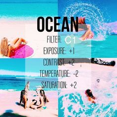 Hey guys this is a new filter acc I will be telling u guys tips on editing for free on vsco cam - good for beachy and water stuff its free! Vsco Photography, Photography Filters, Photography Editing, Creative Photography, Photography Classes, Photography Backdrops, White Photography, Photography Movies, Photography Outfits