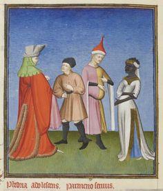 Liripipe with chaperon. Wutthefuck? Publius Terencius Afer, Comoediae [comédies de Térence]. Auteur : Terentius…