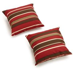 Blazing Needles Throw Pillow Color: Farrington Terrace Grasshopper