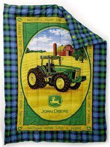 John  Deere bedroom ideas   Amazon.com: John Deere Tractor 8420 Bedding Full Comforter: Home ...