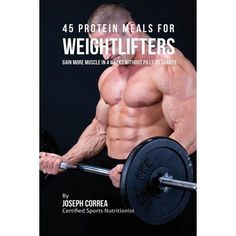 Buy 45 Protein Meals for Weightlifters: Gain More Muscle In 4 Weeks Without Pills or Shakes by Joseph Correa and Read this Book on Kobo's Free Apps. Discover Kobo's Vast Collection of Ebooks and Audiobooks Today - Over 4 Million Titles! Home Exercise Program, Home Exercise Routines, Do Exercise, Workout Programs, At Home Workouts, Core Workouts, Lose Thigh Fat, Lose Body Fat, Gain Muscle