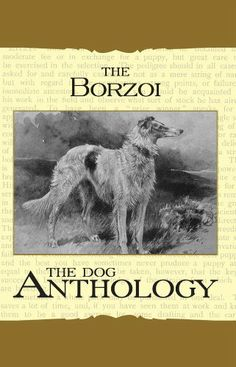 Borzoi: The Russian Wolfhound - A Dog Anthology (A Vintage Dog Books Breed Classic) by Various. $9.69. 80 pages. Publisher: Vintage Dog Books (April 9, 2007)