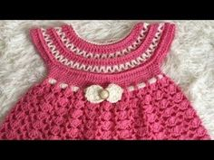 CROCHET How To #Crochet Lil Sprout Baby Dress 0-6 months TUTORIAL #363 LEARN CROCHET - YouTube