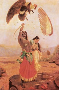 Viático de Vagamundo: Hindu Mythology by Ravi Varma (1848-1906) (Mitologia Hindu)