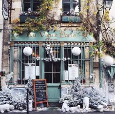 charming French shop